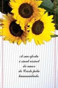 Produto Scala Editora - Livro: Cartão Pastoral do Dízimo  (C3) – aniversário Natalício - Cartões para Pastoral do Dízimo