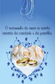 Produto Scala Editora - Livro: Cartão Pastoral do Dízimo  (C5) – aniversário de Casamento - Cartões para Pastoral do Dízimo