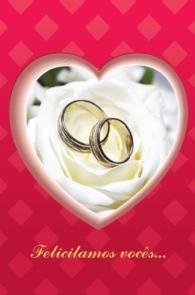Produto Scala Editora - Livro: Cartão Pastoral do Dízimo  (C7) – aniversário de Casamento - Cartões para Pastoral do Dízimo