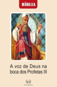 Produto Scala Editora - Livro: A voz de Deus na boca dos Profetas III - Estudos Bíblicos