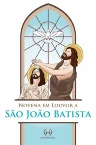Produto Scala Editora - Livro: Novena em Louvor a São João Batista - Novenas diversas