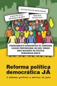 Produto Scala Editora - Livro: Reforma Política Democrática JÁ – O sistema político a serviço do povo - Fé e Política