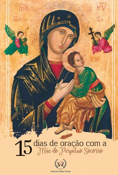 Produto Scala Editora - Livro: 15 dias de oração com a Mãe do Perpétuo Socorro - Devocionais Orações Marianas