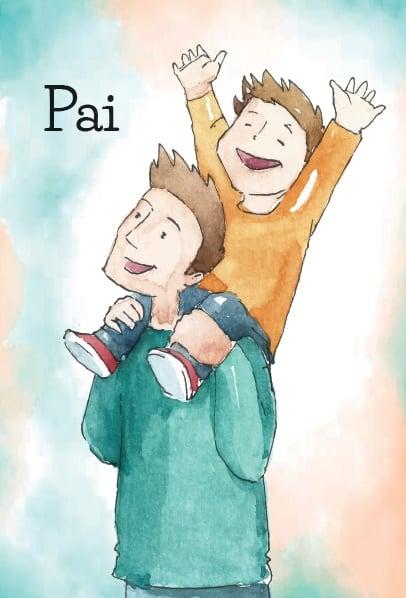 Produto Scala Editora - Livro: Cartão Pastoral do Dízimo (C15) – Dia dos Pais - Cartões para Pastoral do Dízimo Papelaria