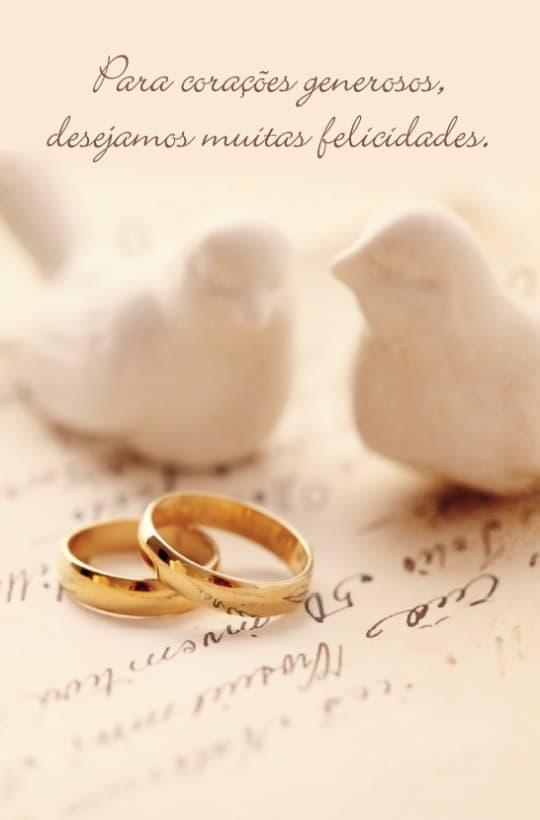 Produto Scala Editora - Livro: Cartão Pastoral do Dízimo  (C8) – aniversário de Casamento - Cartões para Pastoral do Dízimo