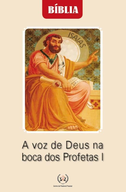 Produto Scala Editora - Livro: A voz de Deus na boca dos Profetas I - Estudos Bíblicos