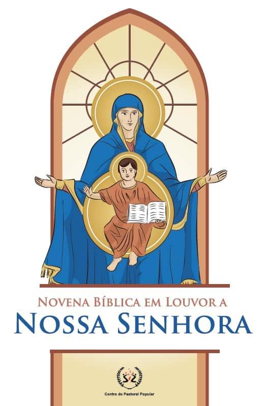 Produto Scala Editora - Livro: Novena Bíblica em louvor a Nossa Senhora - Novenas Marianas