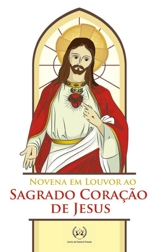 Produto Scala Editora - Livro: Novena  em Louvor ao Sagrado Coração de Jesus - Novenas diversas