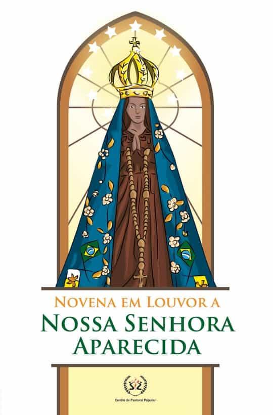 Produto Scala Editora - Livro: Novena em louvor a Nossa Senhora Aparecida - Novenas Marianas