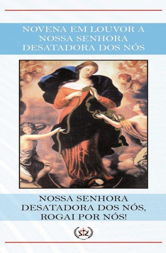 Produto Scala Editora - Livro: Novena em Louvor a Nossa Senhora Desatadora dos Nós - Novenas Marianas Promoções