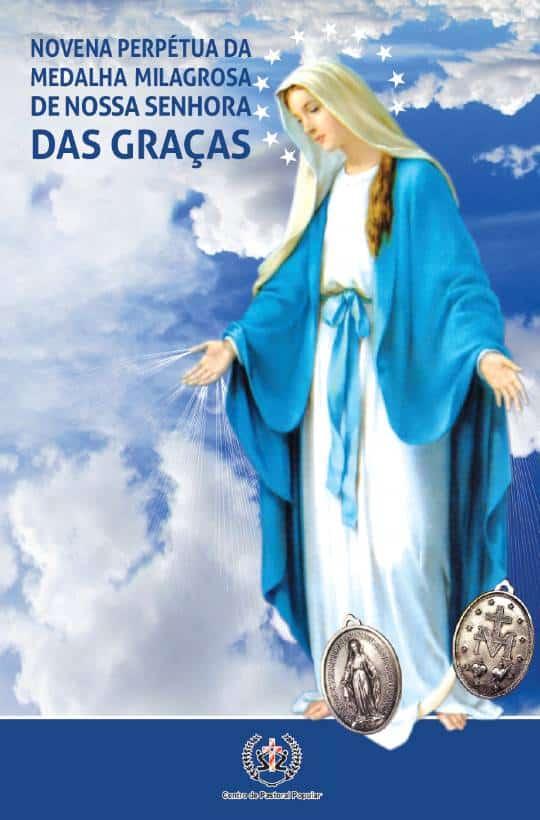 Produto Scala Editora - Livro: Novena Perpétua da Medalha Milagrosa de Nossa Senhora das Graças - Novenas Marianas