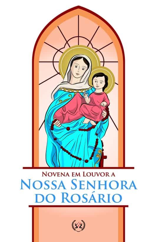 Produto Scala Editora - Livro: Novena em Louvor a Nossa Senhora do Rosário - Novenas Marianas