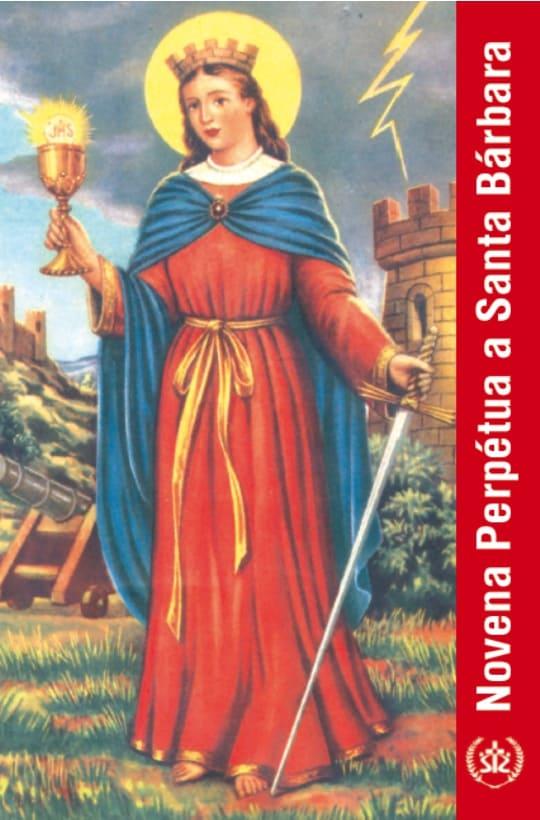 Produto Scala Editora - Livro: Novena Perpétua a Santa Bárbara - Novenas diversas