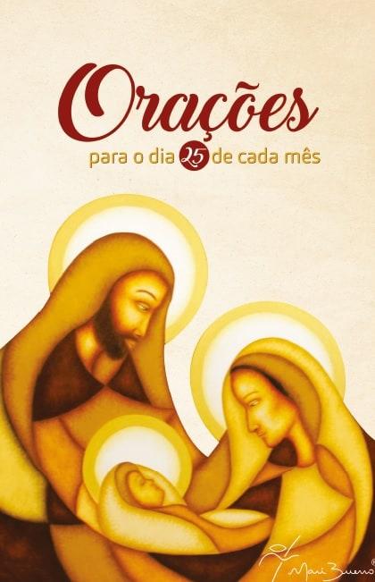Produto Scala Editora - Livro: Orações para o dia 25 de cada mês - Devocionais Livros de orações