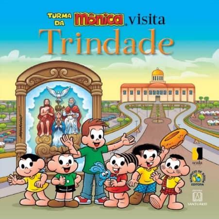 Produto Scala Editora - Livro: Turma da Mônica Visita Trindade - Infantil Promoções