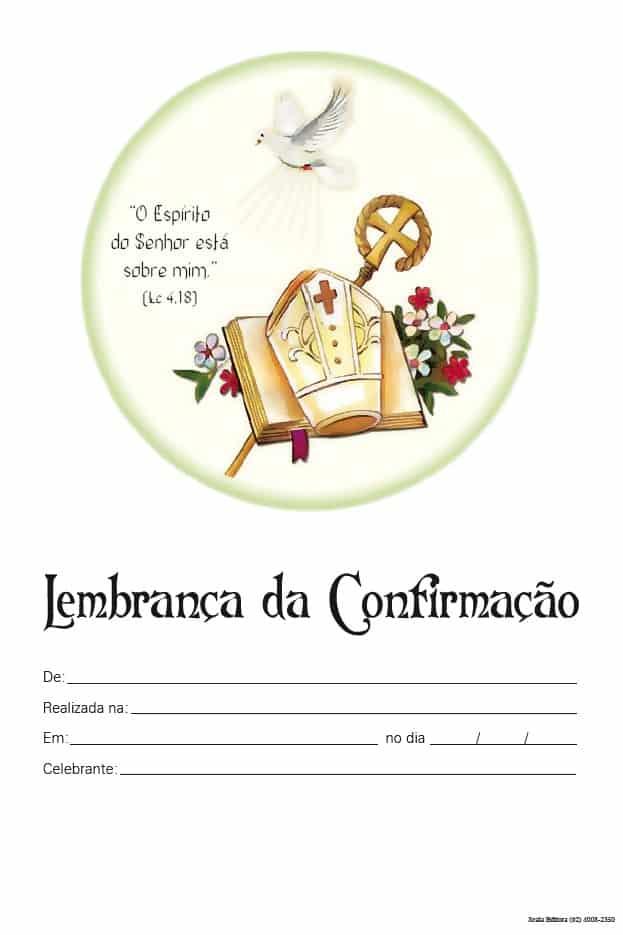 Produto Scala Editora - Livro: Lembrança de Confirmação (LC-1) - Lembranças