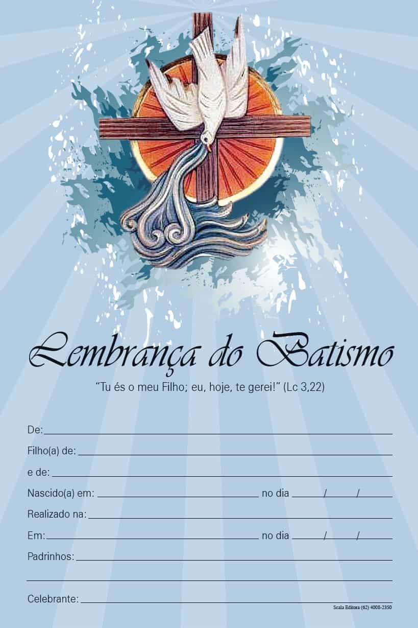 Produto Scala Editora - Livro: Lembrança de Batismo - Lembranças