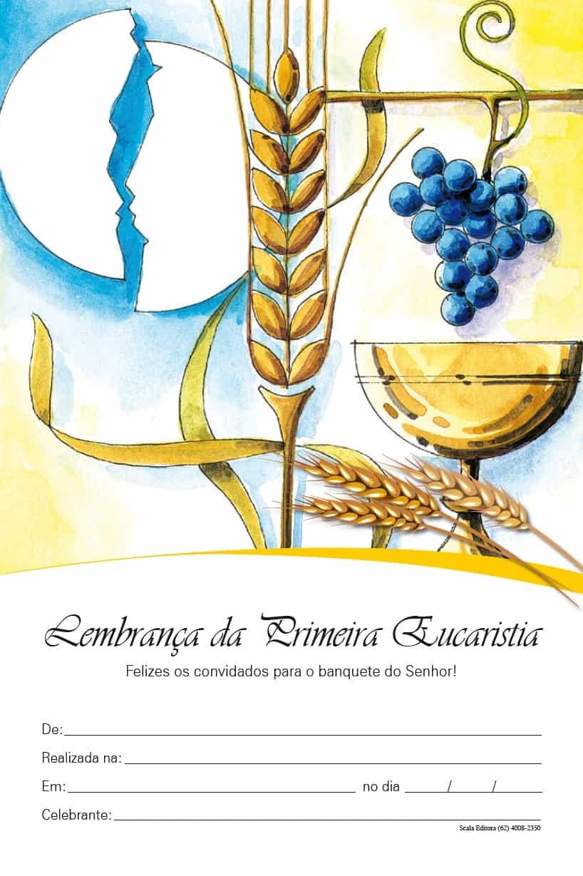 Produto Scala Editora - Livro: Lembrança de Eucaristia - Lembranças