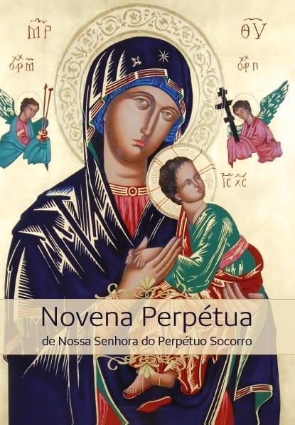 Produto Scala Editora - Livro: Novena Perpétua a Nossa Senhora do Perpétuo Socorro – Letra Grande - Novenas Marianas