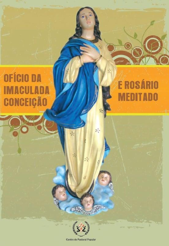 Produto Scala Editora - Livro: Ofício da Imaculada Conceição e Rosário Meditado – Letra Grande - Devocionais Orações Marianas