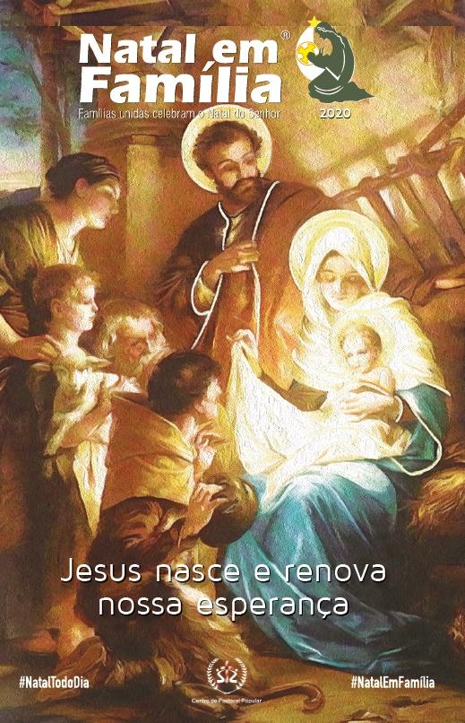 Produto Scala Editora - Livro: Natal em Família 2020 – Jesus nasce e renova nossa esperança - Natal em Família 2020