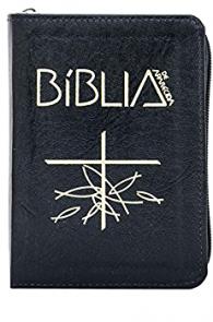 Produto Scala Editora - Livro: Bíblia de Aparecida – Bolso Zíper Preta - Bíblia