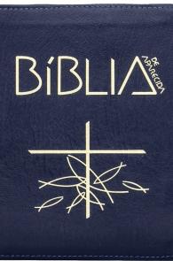 Produto Scala Editora - Livro: Bíblia de Aparecida – Média Zíper Azul - Bíblia