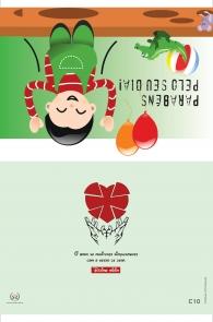 Produto Scala Editora - Livro: Cartão Pastoral do Dízimo  Mirim (C10) - Cartões para Pastoral do Dízimo