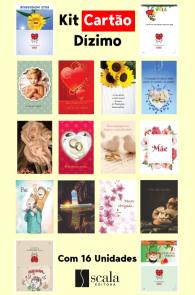 Produto Scala Editora - Livro: Kit Cartão Dízimo Com 16 Unidades - Kits Ofertas