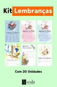 Produto Scala Editora - Livro: Kit Lembranças Com 20 Unidades - Kits Ofertas